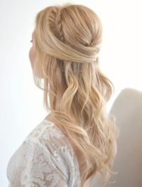 26 Stunning Half Up, Half Down Hairstyles   Updo, Wedding ...