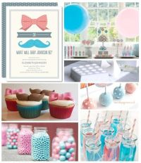 baby shower themes for unknown gender | Cute gender reveal ...