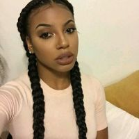 Middle Part Cornrows | Straightbacks | Hair styles ...