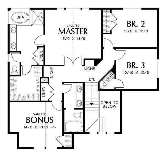 Unique Stone House Plans Two Story Five Bedroom 5 Bath Basement 3