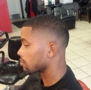 dope fade. black men haircuts