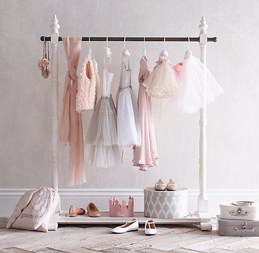 Mini Wardrobe Rack Turn Playtime Into Glam Time Rhbabyandchild Fun Little Girl Stuff
