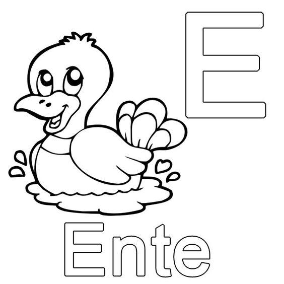 Kinder Malvorlage Buchstaben - Kinder Ausmalbilder