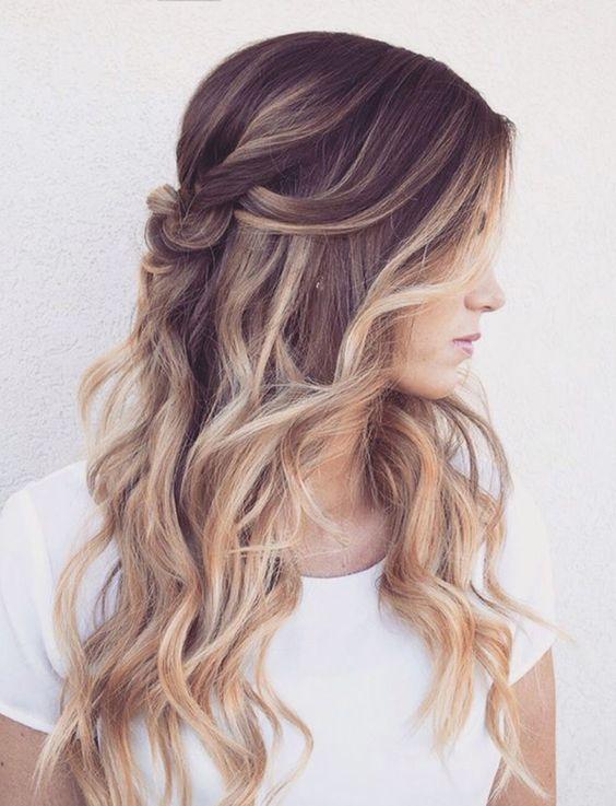 25 Schöne Abschlussball Frisuren Lange Haare Haare Pinterest