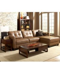 Martino Leather Sectional Living Room Furniture Sets ...