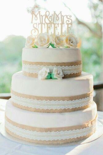 Wedding  Hochzeit  Torte Vintage Spitze  Wedding