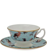 House of Hackney Duck Egg Flights of Fancy Tea Cup and ...