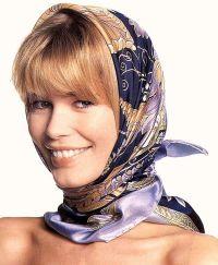 Scarfs tying, Hair scarfs and Headscarves on Pinterest