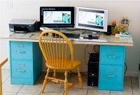 Habitat for Humanity ReStore- File Cabinet Desk: An old ...