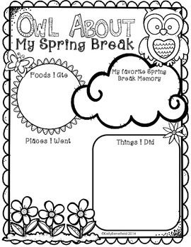 My spring, Spring break and Owl on Pinterest
