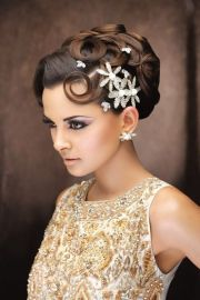 sophisticated updo classy