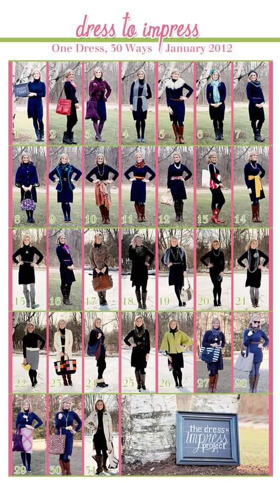 Dress To Impress One Dress 30 Ways Well To Do You