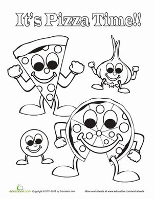 Coloring worksheets, Worksheets and Coloring pages on