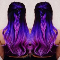 Purple Hair Purple Color Melt with Violet Hair hotonbeauty ...