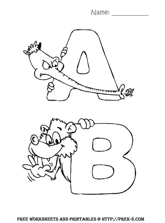 Back to, Preschool activities and Preschool alphabet on