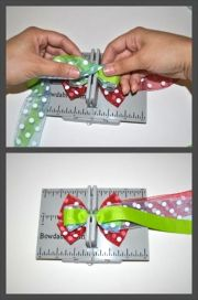 colors bow tutorial and cherries