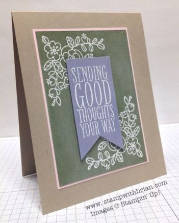 So Very Grateful, Perfect Pennants, Stampin' Up!, Brian King, PP177:
