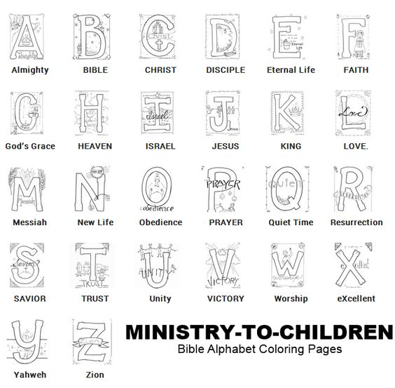 Coloring, Alphabet and Alphabet coloring pages on Pinterest