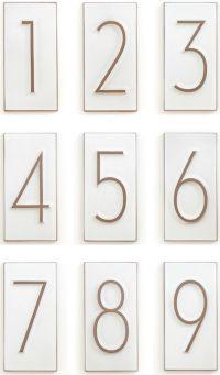 neutra house numbers | house industries + heath ceramics ...