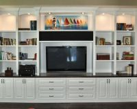 home theater custom cabinets | Gallery of Elegant Custom ...