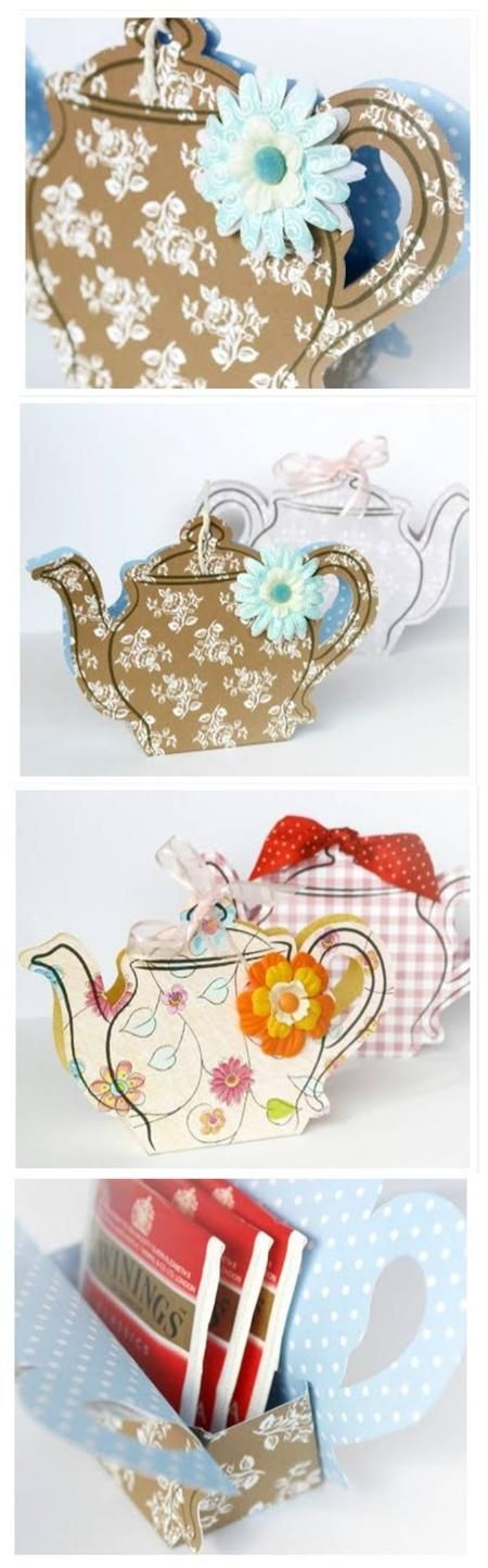 Teapot Tbox Tutorial & Template To Download Orginally From