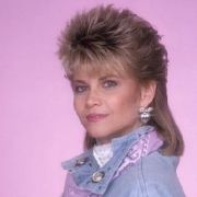 markie post - spiky mullet 80s