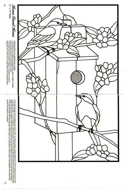 House, Birds and Patterns on Pinterest