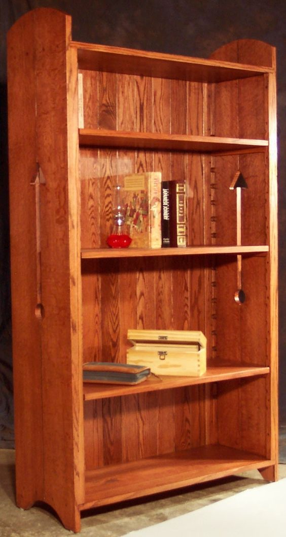 Bookcases and Style on Pinterest