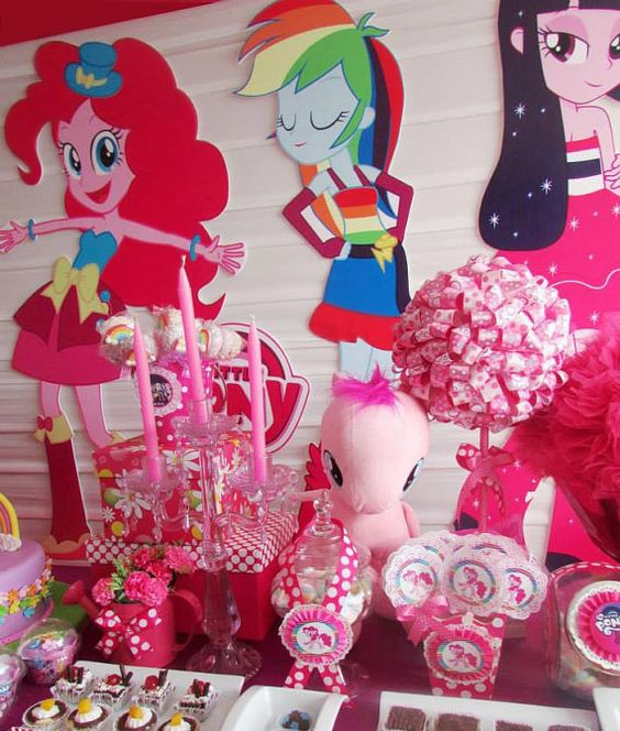 17 Best Images About Equestria Girls Birthday Party
