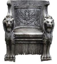 stone throne