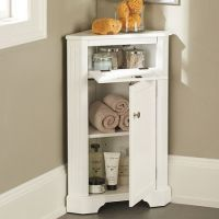 Weatherby Bathroom Corner Storage Cabinet | For the Home ...