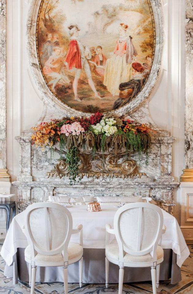 Image result for Restaurant le Meurice Alain Ducasse, Paris