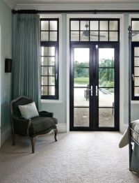 25 Great Window Covering Ideas | French doors, Window and ...