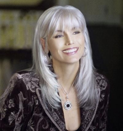 attractive cuts that make people with gray hair look younger pinterest my hair grey and style