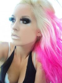 pink blond hair | Hair~Nails~Beauty | Pinterest | Wimpern ...