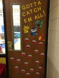 Pokemon Classroom Door   Classroom Ideas   Pinterest ...