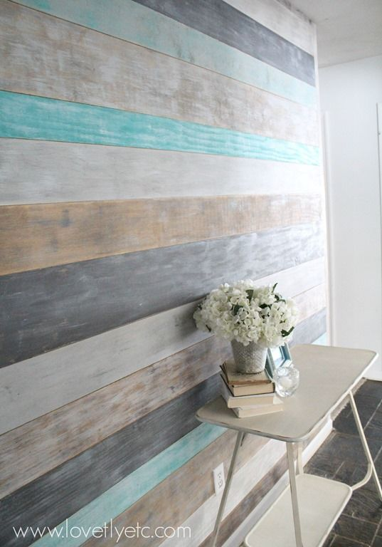 Love plank walls one day!