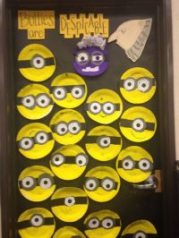 Anti bully door decoration