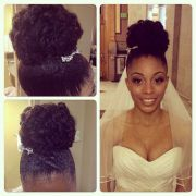beautiful natural bridal heat