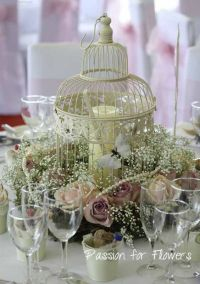 Bird cage table decorations, Love | Table / Centerpieces ...