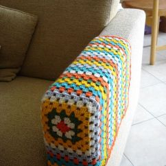 How To Make Armrest Covers For Sofas Plastic Cover Sofa Granny Squares, Couch And Squares On Pinterest