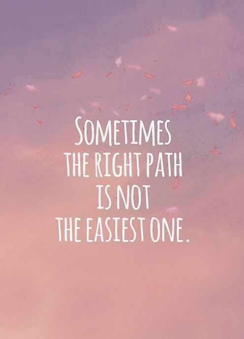 The Right Path: