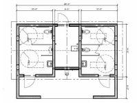 Public Restroom Layout Bathroom stall dimensions ...