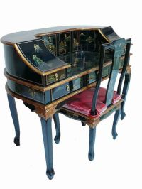 Oriental furniture, Desk chairs and Writing desk on Pinterest