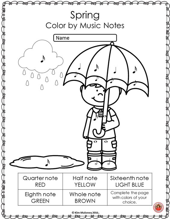 Piano Theory Coloring Pages Coloring Pages