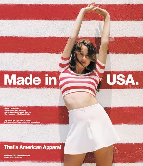 #AmericanApparel: