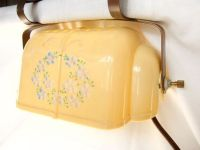 Vintage Headboard Reading Lamp Clamp Light Retro Yellow ...