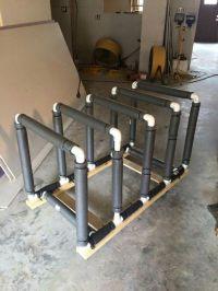 Jeep Door Holder saver. Wood, pvc, pipe insulation, tie ...
