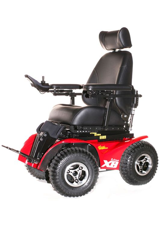 x8 wheelchair outdoor high top table and chairs magic mobility extreme (elektrische buiten/off-road rolstoel electric outdoor/off road ...