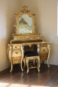Fabulous & Rococo Dressing Table - Gold Leaf   Baroque ...